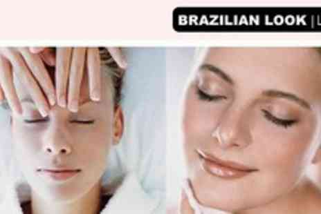 Brazilian Look - Refreshing Deep Cleansing Facial for softer skin - Save 75%