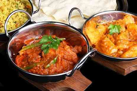 Raj Indian Restaurant -  Two  Meal option available around Christmas day  - Save 50%
