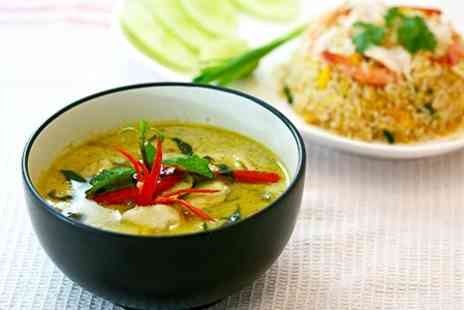 Royal Green Curry Restaurant - Two Course Thai Meal For Two - Save 64%