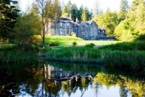 The Ardanaiseig Hotel - In Loch Awe One Nights For Two With Breakfast and Dinner - Save 45%