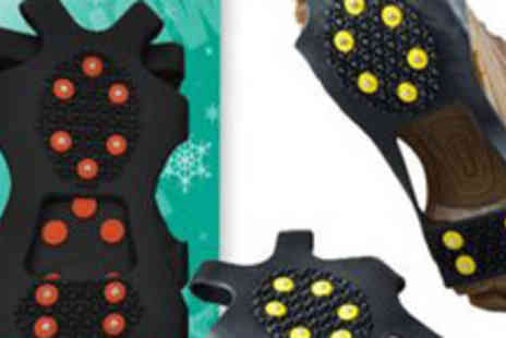 Bargain Buddy - Over the Shoe Studded Snow and Ice Grips - Save 53%
