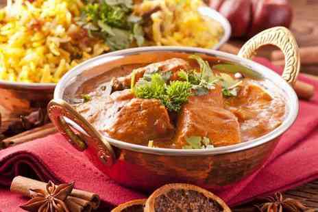 Mrs Singh's - Two course Indian meal for two people - Save 50%