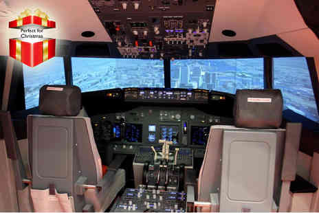 iPilot - 30 minute flight simulation experience - Save 50%