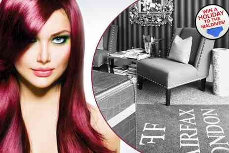 Fairfax London - Precision cut blow dry and intensive conditioning  - Save 75%