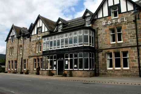 Balavil Hotel - In Inverness shire Two Nights For Two With Breakfast - Save 43%