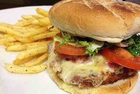 The Corn Stores - Burger Meal For Two - Save 53%