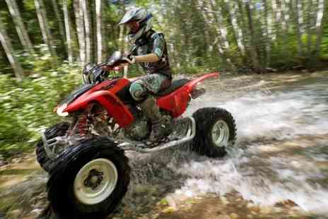 Universal Paintball - Quad Biking Experience For One - Save 70%