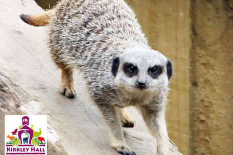 Kirkley Hall Zoological Gardens - Lemur or Meerkat Experience and Entry to Zoo for Two Adults - Save 53%