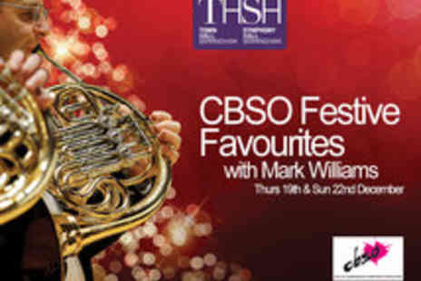 Symphony Hall - Tickets to CBSO Festive Favourites Concert presented by Mark Williams - Save 33%
