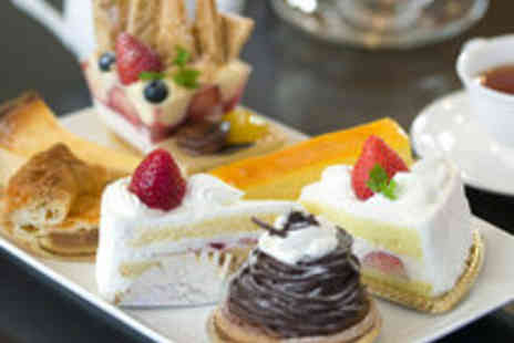 Helens Little Cake Shop - Christmas Afternoon Tea for Two with Mince Pies and Christmas Cake - Save 35%