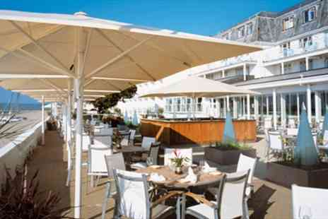 The Sandbanks Hotel -  Sandbanks Hotel with Seaview Upgrade & Meals - Save 43%