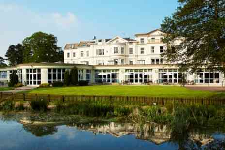 Cheltenham Park Hotel - Cheltenham four Star Country House with Dinner - Save 46%