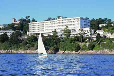 The Imperial Hotel - English Riviera Stay with Dinner & Extras - Save 44%