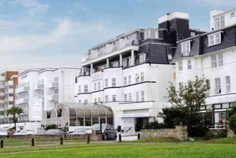 The Suncliff Hotel - Bournemouth Seaside Stay with three Course Dinner - Save 42%