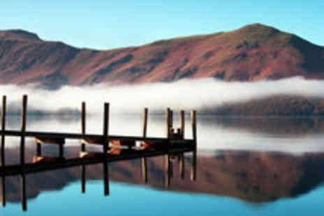 Lake District Hotels - Lake District Getaway for Two with Three Course Dinner - Save 49%