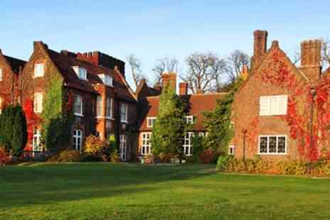 Letchworth Hall Hotel - Hertfordshire 17th Century Manor Stay With Dinner & Wine - Save 49%