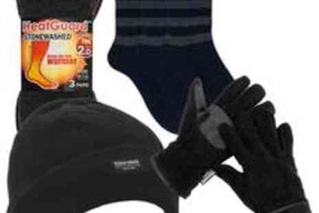 babz - Thermal Hat Plus Socks And Gloves - Save 33%