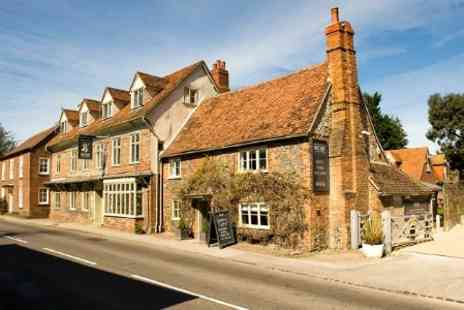 The White Hart - Three Nights For Two With Dinner - Save 55%