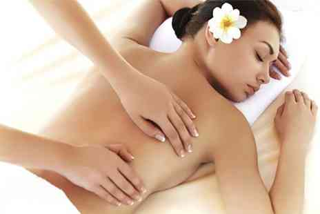 Miss Couture - Back Neck and Shoulder Massage With Shellac Manicure - Save 56%