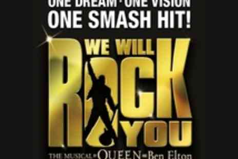 Dominion Theatre - Ticket to We Will Rock You - Save 46%