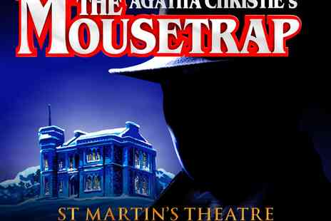 St Martin's Theatre - Tickets to Agatha Christie's The Mousetrap - Save 50%