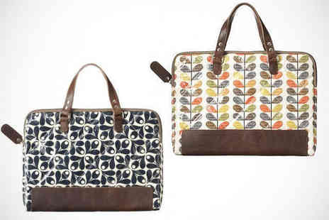 Move It Online - Orla Kiely Laptop Carry Case with Delivery - Save 40%