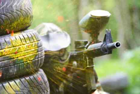 Paintball Commando - One day of paintballing for two Including paintballs, kit & lunch - Save 89%