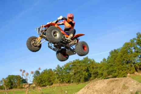 Hamburger Hill - One hour of quad biking for kids - Save 50%