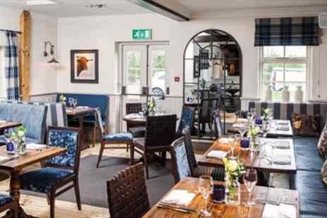 The Bulls Head - Two Course Gastropub Meal for 2 With Drinks - Save 48%