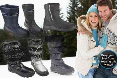 Mrs Marcos - Hengst ladies waterproof snow boots   - Save 50%
