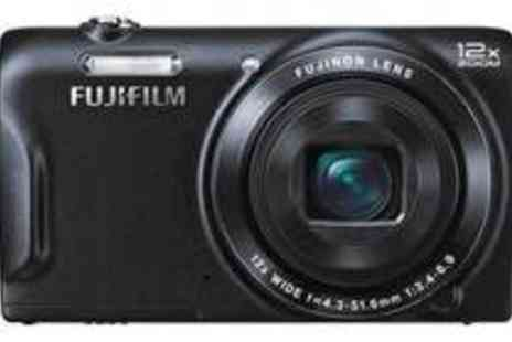 Argos - FUJIFILM FINEPIX T500 16MP 12X ZOOM COMPACT CAMERA - Save 10%