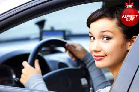 1st Pass Driving School - One hour driving lessons - Save 87%