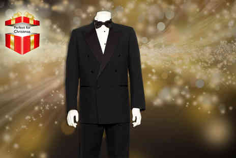 The Big Red Building - Double breasted dinner suit - Save 70%