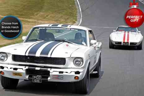 Classic American Muscle - Six mile classic Mustang driving experience  - Save 34%