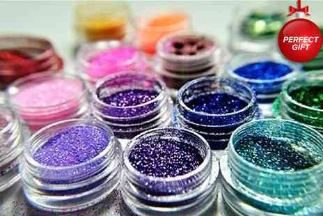 My Avarice - 12 pack of eyeshadow and body glitters - Save 50%