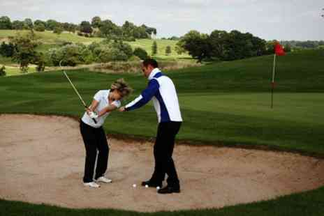 Ace Academy 4 - Private Golf Lesson With PGA Professional - Save 63%