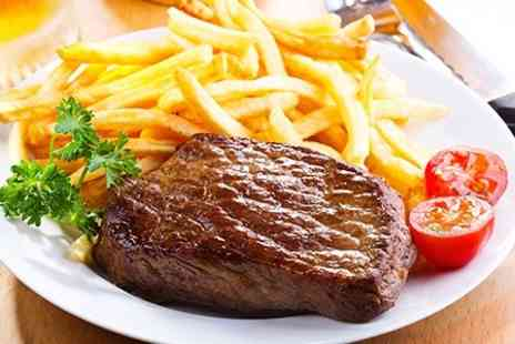 La Fina - Steak or Tapas Meal With Wine For Two - Save 58%