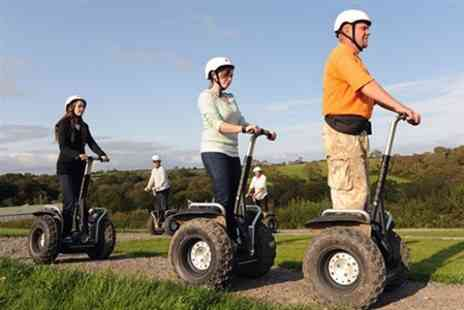 Makin Tracks - Dinosaur Park Safari Segway For Two - Save 58%
