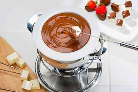 The Urban Coffee House - Chocolate Melting Pot For Two or Fountain With Drinks - Save 57%