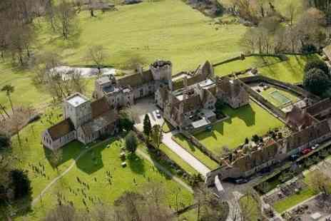 Lympne Castle Cottages -Two night stay at Self catering cottages, kent - Save 60%