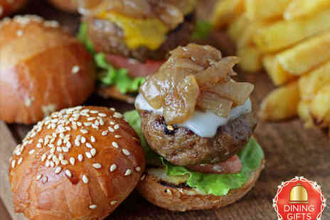 Jerusalem Bar & Kitchen - Tray of Mini Burgers to Share and Cocktail Each for Two People - Save 55%