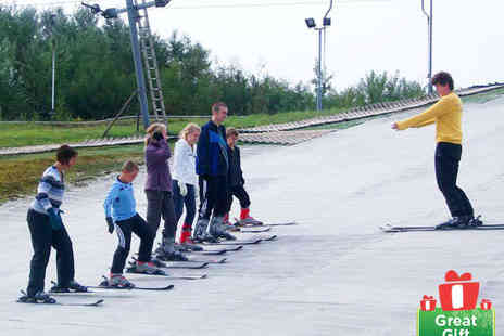 Swadlincote Ski Slope and Snowboard Centre - 90 minute Ski or Snowboard Lessons for One  - Save 55%