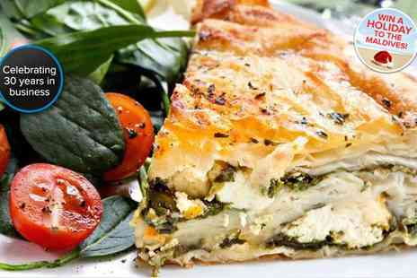 The Olive Tree - Food voucher for two to spend - Save 50%