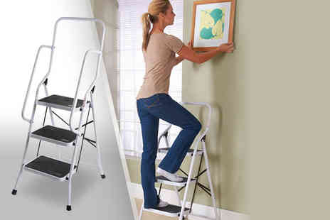 Easylife Group - Three step Genius Safety ladder - Save 50%