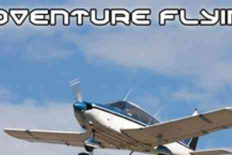 Adventure Flying - Introductory Flying Lesson - Save 50%
