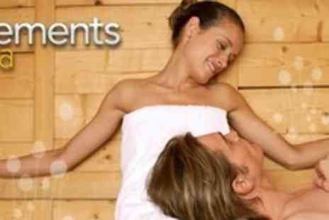 Elements Spa - Two Hour Hydro Spa Experience With Welcome Drink For Two - Save 74%