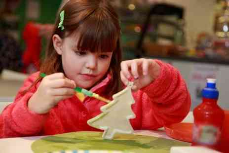 Leap Frog Ceramics - Pottery Painting Experience With Tea and Cakes - Save 50%