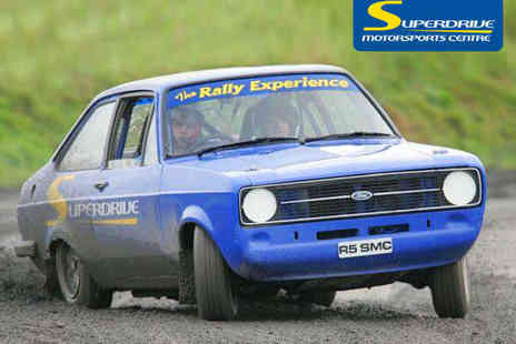 Superdrive Motorsports Centre - Intermediate Plus Rally Experience - Save 39%