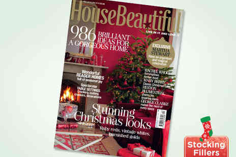 House Beautiful Magazine - 12 Issue Subscription - Save 49%