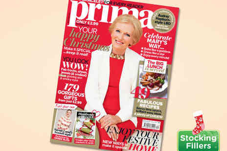 Prima Magazine - 12 Issue Subscription to Prima Magazine - Save 41%